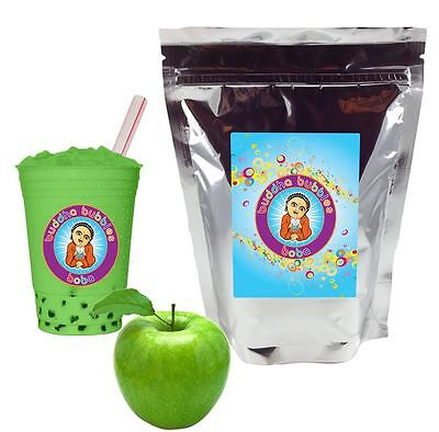 1 Kilo / 2.2 Pounds GREEN APPLE Boba / Bubble Tea Powder BUDDHA BUBBLES BOBA