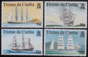 Maritime-heritage-1st-series-stamps-1998-Tristan-da-Cunha-SG-ref-643-646-MNH