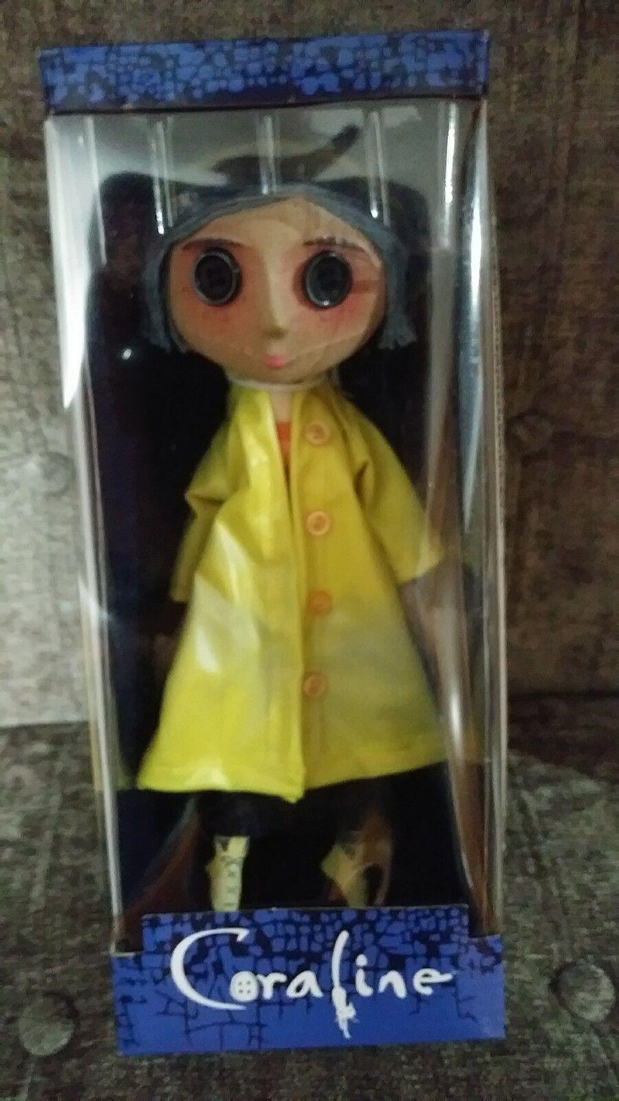 NIB Collectors NECA Coraline 10  Prop Replica Doll - US Seller
