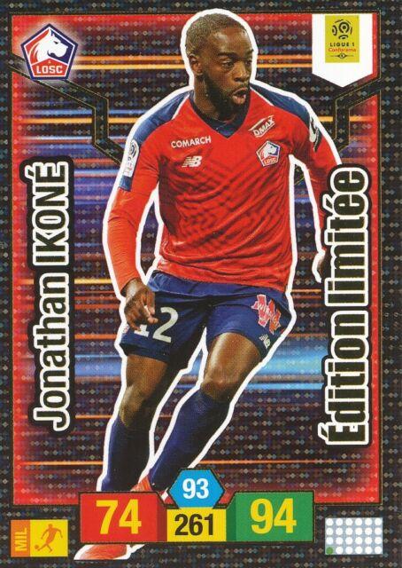 Carte Panini ADRENALYN XL Ligue 1 2019-2020 JONATHAN IKONE LOSC Lille