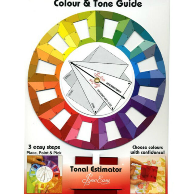 Colour Wheel ~ Colour and Tone Guide