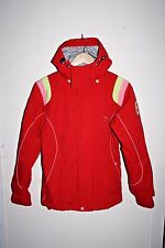 Protest Sport Designe Ski Winter Jacket Woman's Hooded Red Geotech 3.0 Size L
