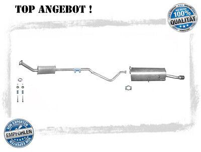 neu CITROEN C1 PEUGEOT 107 1.4 Klemmstück Auspuff Rohrverbinder Schelle