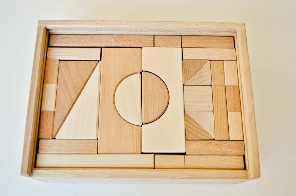 ALBISBRUNN - Kit costruzioni 44 pezzi