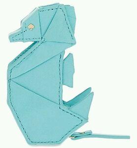 Kate Spade Breath Of Fresh Air Origami Seahorse Coin Purse Nwt by Kate Spade