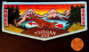 TSISQAN-LODGE-253-OA-OREGON-TRAIL-COUNCIL-OR-PATCH-2012-NOAC-BLUE-DEER-FLAP