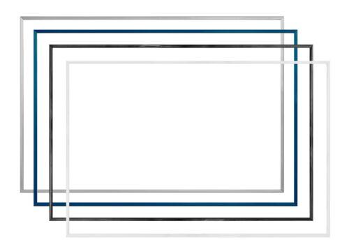 Komplette Kunststoff-Bilderrahmen TEXAS 35 x 80 cm mit Paket-Sonderpreisen