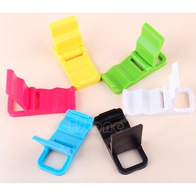 Lot Universal Foldable Cell Phone Stand Holder For iPhone 5/4 Samsung HTC Mini