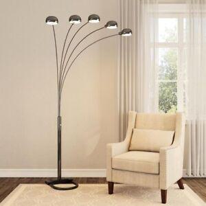 Prime Details About 5 Arms Arch Black Floor Lamp Dimmer Switch Sofa Bed Tv Bookshelf Light Bedroom Download Free Architecture Designs Jebrpmadebymaigaardcom