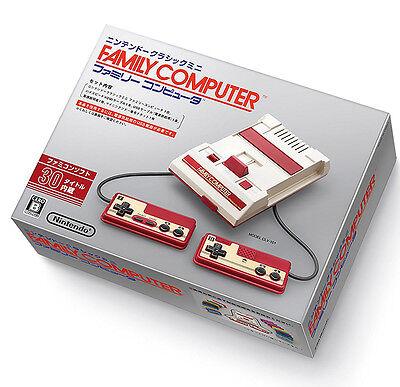 Nintendo Classic Mini Family Computer Famicom 2016 Pre Installed 30 Games Japan