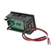 Dc 5v 120v Digital Voltmeter Led Display Panel 2 Wire Volt Voltage Test Meter