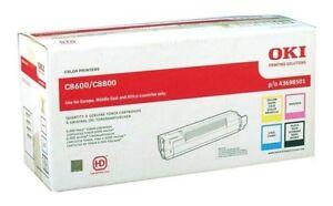 4-x-Original-Toner-OKI-C8600-C8800-43698501-43487712-43487709-Cartridges-Set