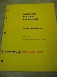 Details about New Holland 320 Baler Service Parts Catalog Manual