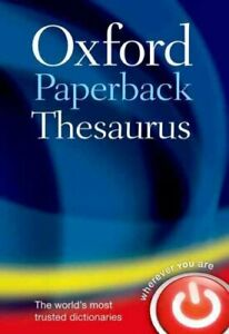 Oxford-Paperback-Thesaurus-by-Oxford-Languages-9780199640959-Brand-New