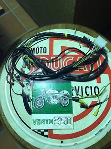 NOS GENUINE DUCATI BEVEL SINGLE MOTOTRANS VENTO 350CC WIRING HARNESS | eBayeBay
