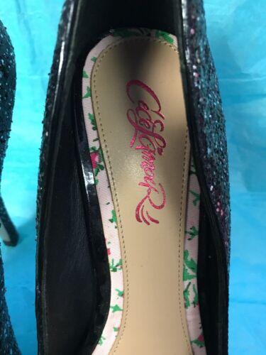 Brillantes M Aiguilles 9 Design Lamour Paillettes 5 Talons W Cece Noires Chaussures 0TOnqP