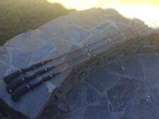THREE Sabre BASSTROKER #1580 5 1/2' Casting Rod With FUJI Handle's
