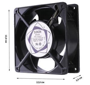 Luefter-120x120x39-mm-230V-Sunon-DP203A-2123LST-Gehaeuse-Luefter-Fan-Kuehler-Cooler
