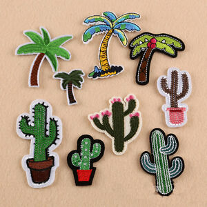 9Pcs-Embroidery-Sew-Iron-On-Patch-Badge-Fabric-Clothes-Applique-Craft-Transfer