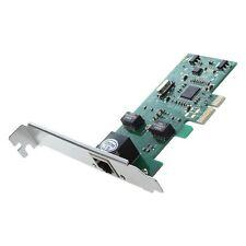 PCI-E espresso 10/100/1000M Gigabit Ethernet LAN Scheda di controllo di rete W9R