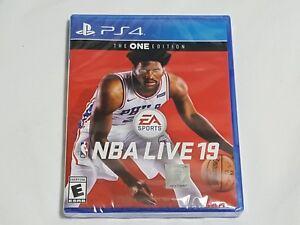 New Nba Live 19 Playstation 4 Game Sealed Ps4 2019 Basketball Ea