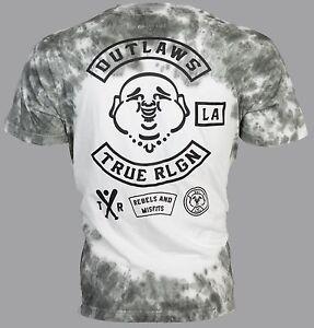 Image is loading TRUE-RELIGION-Mens-T-Shirt-OUTLAWS-Buddha-Dark-