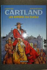 BD jonathan cartland n°10 les repères du diable EO 1995 TBE blanc dumont western