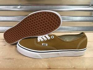 743b90096c Image is loading Vans-UA-Authentic-Skateboard-Shoes-Cumin-True-White-