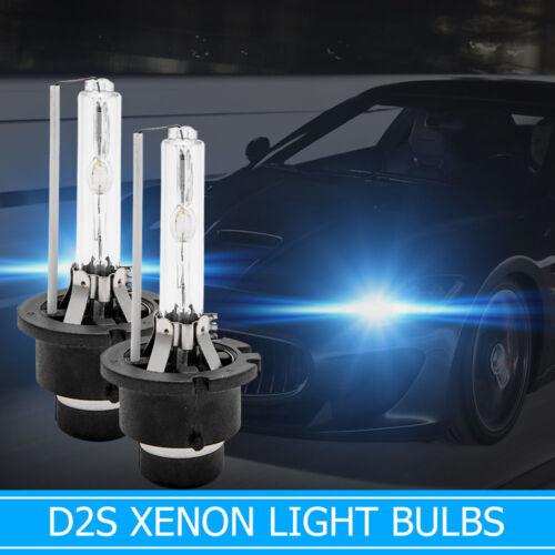 2 x D2S HID 85122 Xenon Beam Headlight Bulbs Lamps 5000K 35W FOR AUDI A3 A4 A6