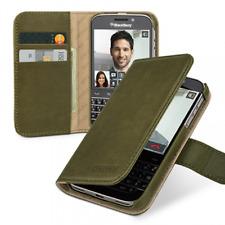 TETDED Leather Case for Blackberry - Classic / Q20 Snap Gerzat - Vintage Olive