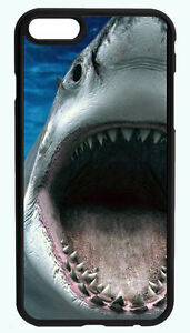 NEW-GREAT-WHITE-SHARK-BLACK-PHONE-CASE-COVER-FOR-IPHONE-7-6S-6-PLUS-5C-5S-5-4S
