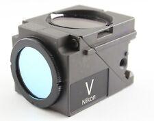 Nikon V Violet Fluorescence Cube Eclipse Quadfluor Microscope