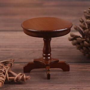 1-12-Dollhouse-Miniature-Round-Table-Wooden-Furniture-Dollhouse-Accessori-WW