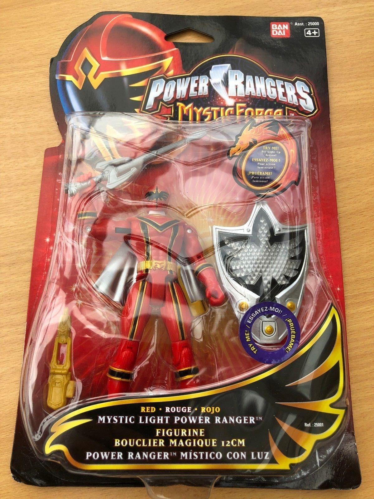 Power rangers mystische kräfte rote ranger action - figur misb sehr selten