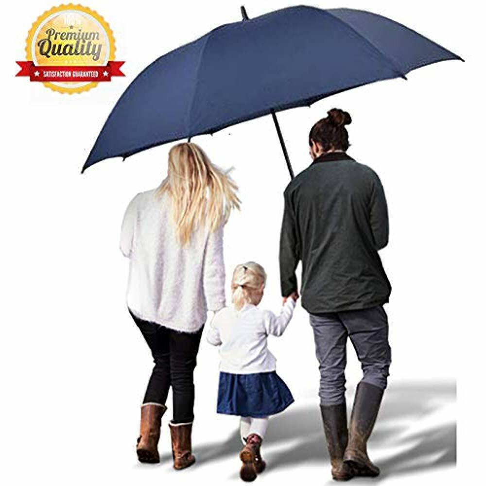 a6a53c63a259 Golf Umbrellas Umbrella Large 60 Inch Oversize Windproof Waterproof Auto  Open UV