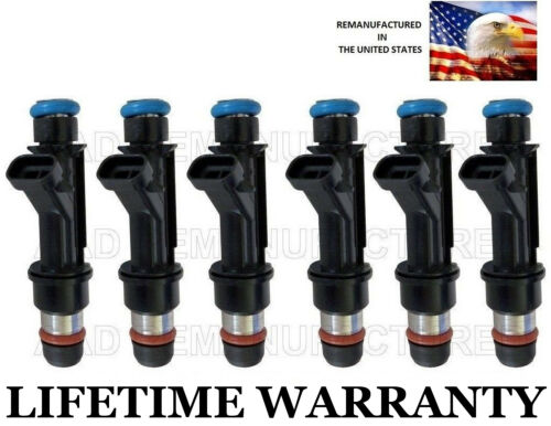 Genuine Delphi 6 Fuel Injectors for Buick Chevy Pontaic Oldsmobile 3.1L 3.4L