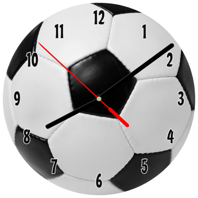 8 Horloge Murale Soccer 1 Ball Sports Score Kid S Chambre A