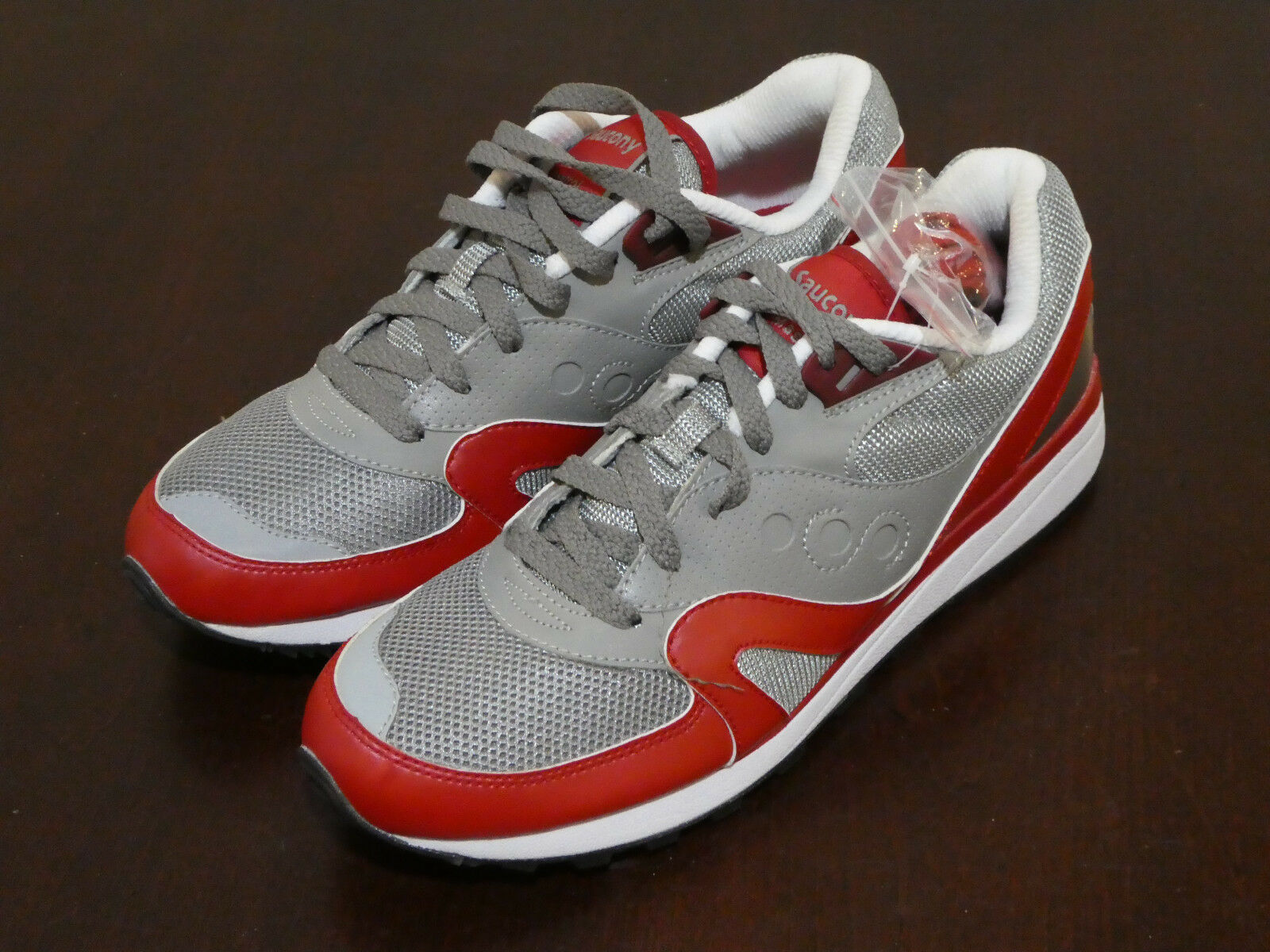 Saucony Master Control shoes mens new sneakers 70076-5 grey red