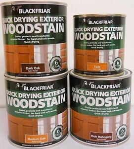 BLACKFRIAR-EXTERIOR-QUICK-DRYING-WATER-BASED-WOODSTAIN-SATIN-500ML-amp-1LITRE