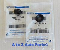 92-2003 Ford F150,f250 Transmission Shift Overdrive Lockout Switch & Bezel Combo