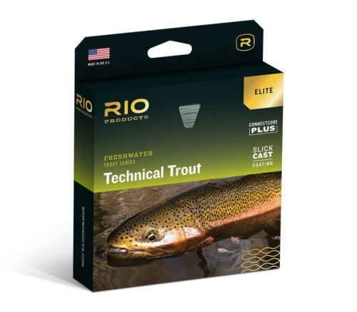 WF5F New Details about  /RIO Elite Technical Trout Fly Line
