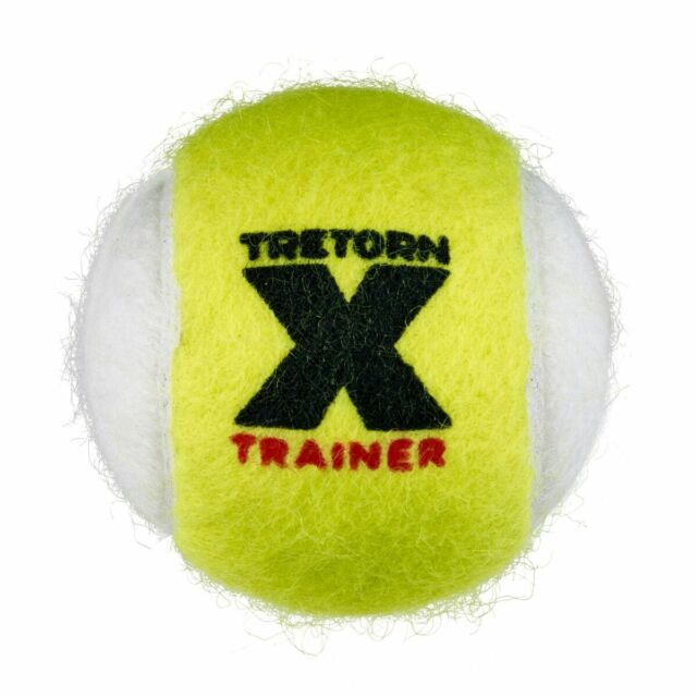 Tretorn MICRO X Trainer - Yel/Wh Felt - Non Softening Tennis Balls 1 x 72 balls