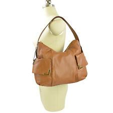 a6d7011a30a2 Michael Kors Beverly Large Top Zip Leather Shoulder Bag Walnut Brown ...