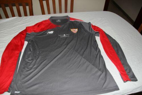 CAMISETA OFICIAL SEVILLA FC NEW BALANCE T/XL PARTIDO UEFA ATH.BILBAO-SEVILLA.FC
