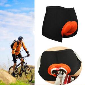 Ropa Interior De Ciclismo Mtb Mountain Bike Pantalones Cortos 5d Gel Acolchados Ebay