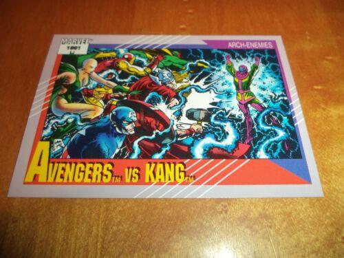 Avengers vs Kang 96 1991 Marvel Universe Series 2 Impel Base Trad Card