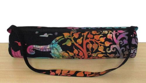 Yoga Mat Carrier Beach Bag Indian Mandala Large Gym Bags With Shoulder Strap