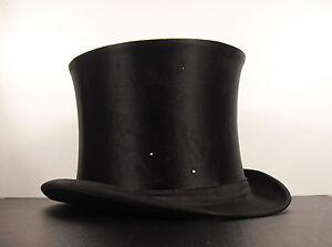 Chapellerie Bosseler Jne Bar Le Duc Chapeau Claque Hat Headwear Vers 1900