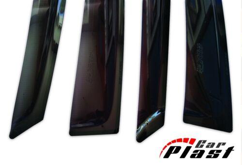 For Toyota Land Cruiser Prado 120 Window Deflector Visor Vent Rain Wind Guard