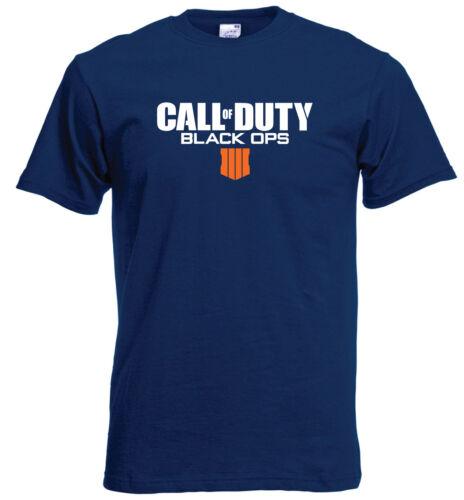 Call Of Duty Black Ops 4 IIII T shirt PS4 Gaming Gamer Childrens T Shirt